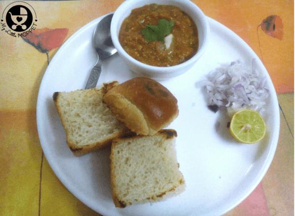 easy pav bhaji recipe