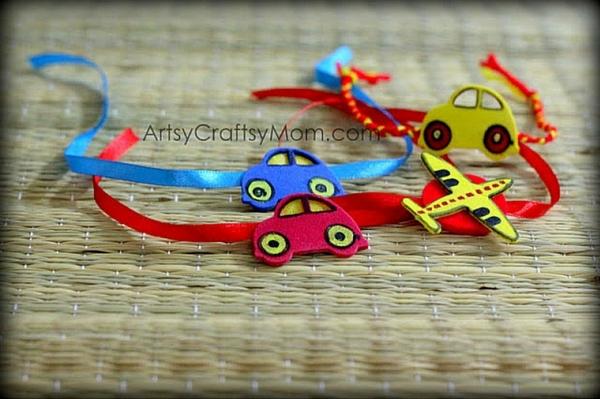 handmade rakhi ideas