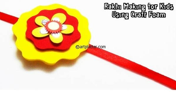 10 Simple DIY Handmade Rakhi Ideas for Kids to Make