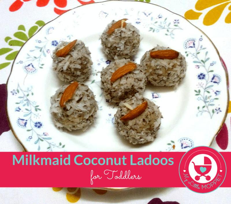 milkmaid coconut ladoo