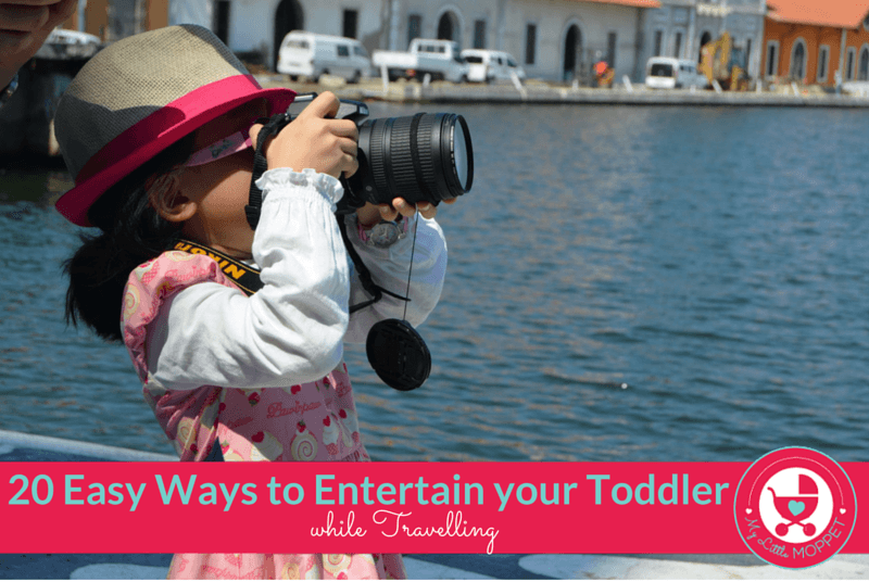 Ways to Entertain your Toddler