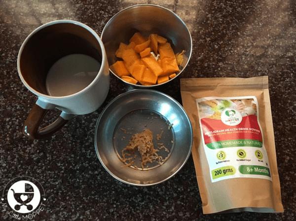 mango milkshake for toddlers