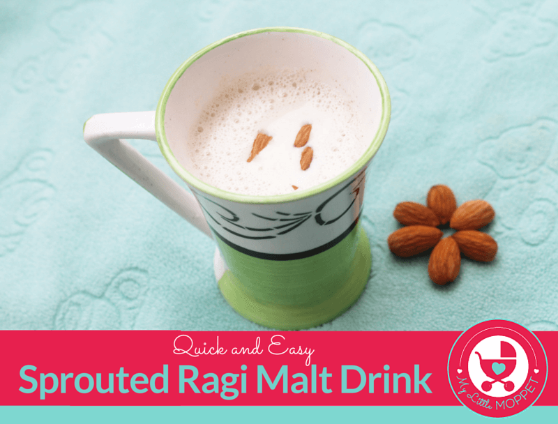 sprouted ragi malt