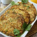 oats veggie pancake
