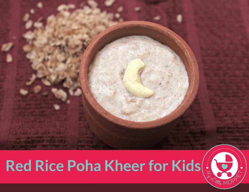 red rice poha kheer