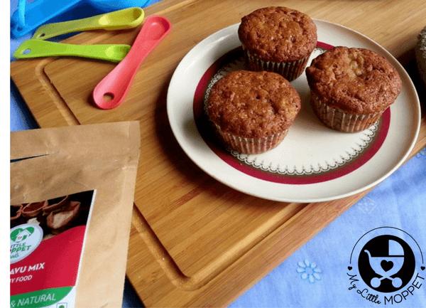 sathumaavu banana muffins
