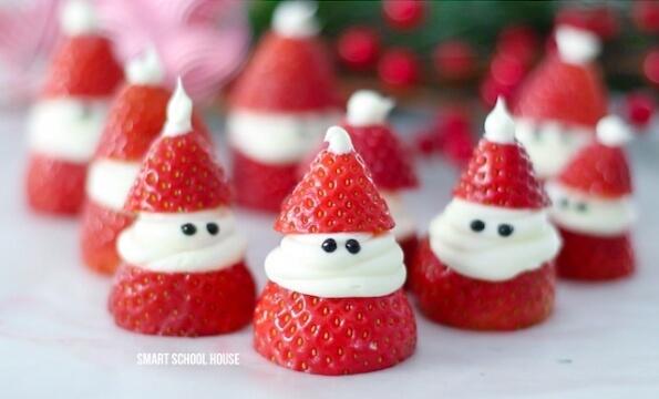 healthy christmas treats for kids