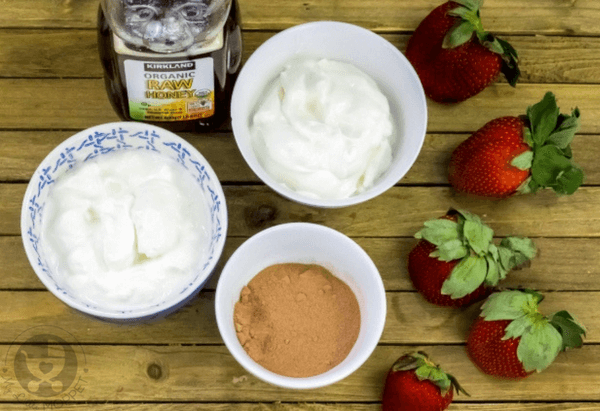 chocolate sweetheart yogurt parfaits