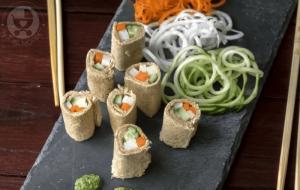 Tricolor Bread Sushi Rolls