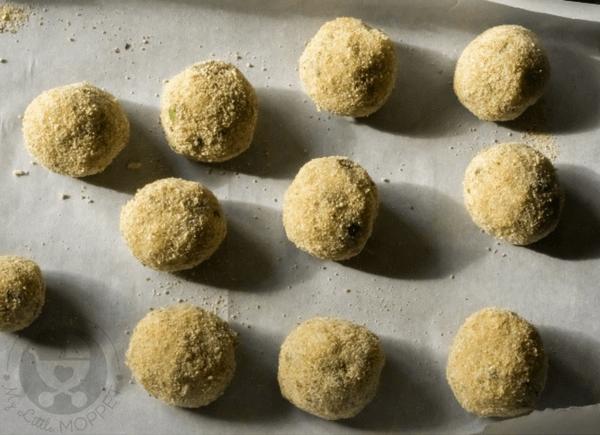 baked fish balls