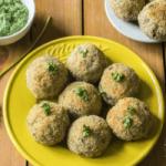 Baked Fish Balls Recipe for Kids