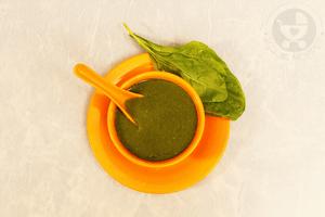 Broccoli Spinach Puree