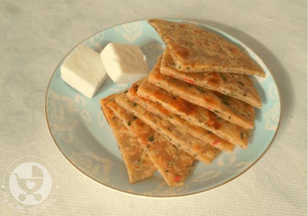 Paneer Vegetable Paratha Recipe