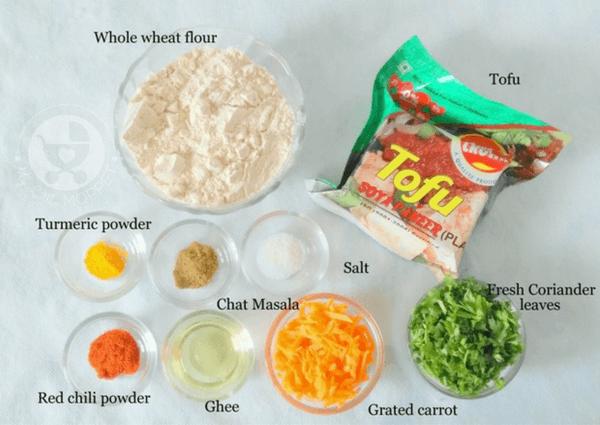 Stuffed Tofu Paratha