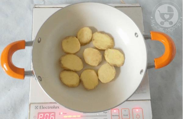 Sweet Potato Bruschetta