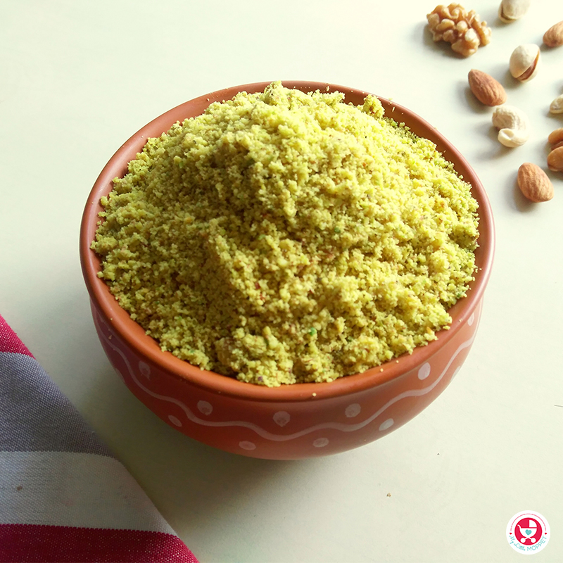 Homemade Mixed Nuts Powder (with Walnuts)