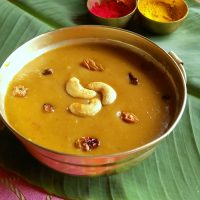 Pasi Paruppu Payasam – Moong Dal Payasam Recipe