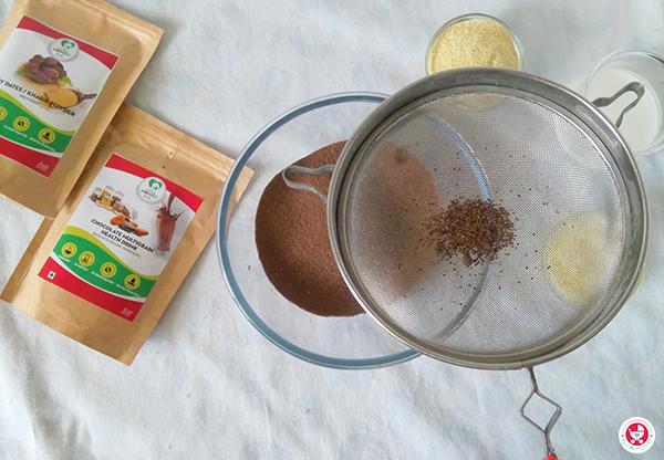 Chocolate Multigrain Cookies