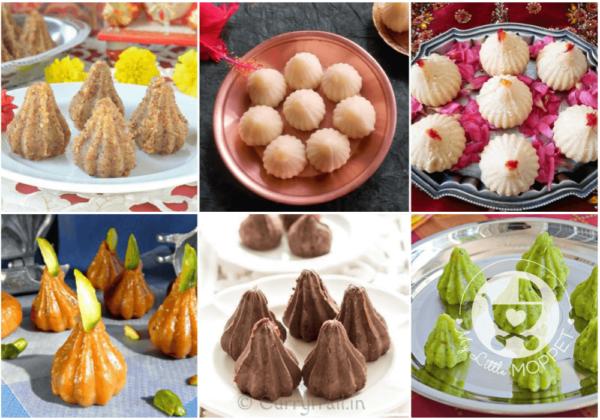 25 Unique Modak Recipes for Ganesh Chathurthi