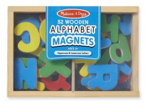 Melissa Doug Wooden Alphabets