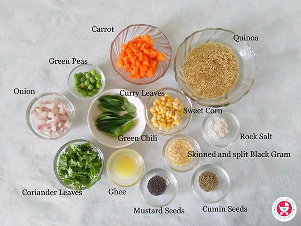 Quinoa Vegetable Upma