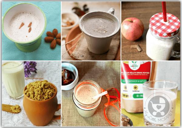15 Homemade Health Drink Mixes to make Milk Tastier