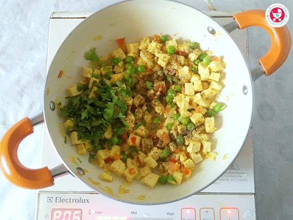 Tofu Bhurji / Scrambled Tofu