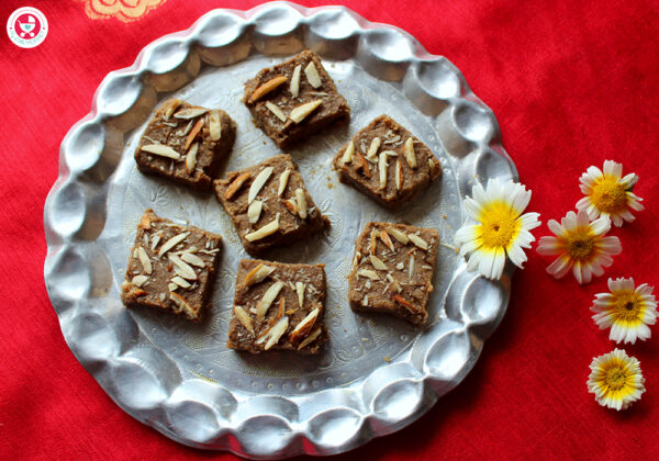 Sathumaavu Gul Papdi is a very healthy, melt in mouth fudge made from whole wheat flour, ghee and jaggery. This recipe is very easy and highly nutritious.