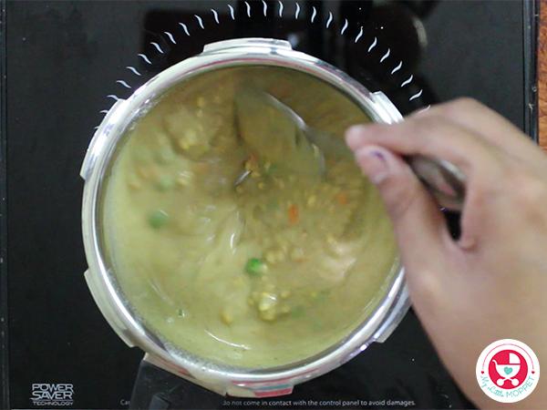 Barley Vegetable Khichdi for Babies