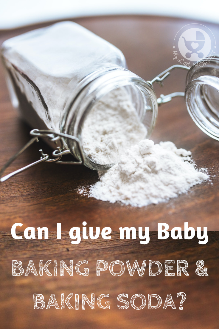 Baking powder and soda are found in most baked products, and help them rise. This makes us wonder: can I give my baby baking powder and baking soda?