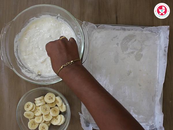 Frozen Yoghurt Banana Bites [Teething Recipe]