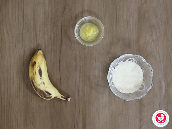 Banana Sooji Halwa for Babies / Sooji Banana Sheera