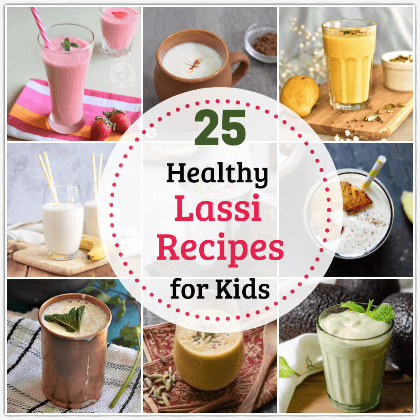 Lassi is a popular summer drink in India, and it is very versatile! Here are 25 Healthy Lassi Recipes for Kids, made with a variety of ingredients!