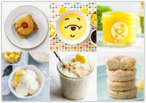 Make the most of the juicy fruit with these healthy Pineapple Recipes for Babies and Kids, ranging from smoothies to chutney to desserts and much more!