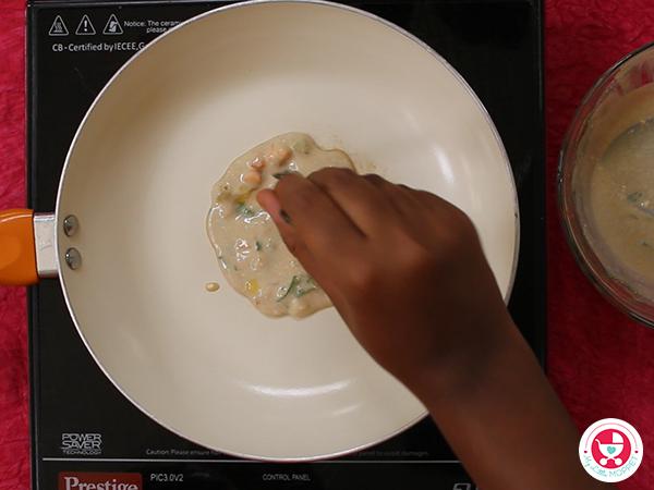 Wheat Banana Cheela/ Dosa for Kids