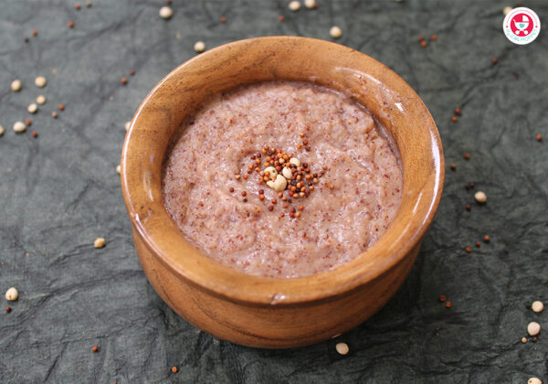 Try this Jowar Ragi Dates Porridge for Babies [simple & easy iron rich baby food], an immunity boosting food, which is rich in several other nutrients!